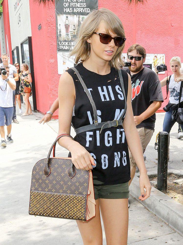 786c7638f8e Taylor-Swift-Louis-Vuitton-x-Christian-Louboutin-Monogram-Tote