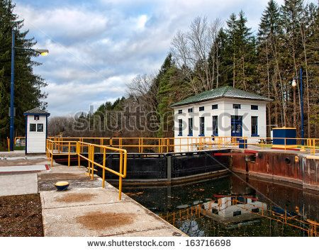 Erie Canal, located in Clay, new york