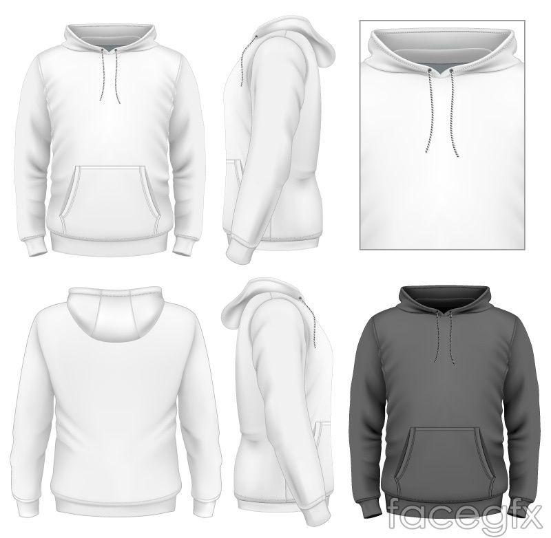 Turtleneck Sweatshirt Design Vector Hoodie Vector Hoodie Design Fashion Design Template