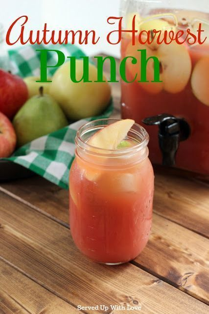 Autumn Harvest Punch (+Video)