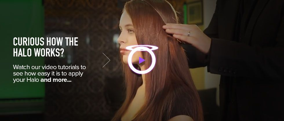 How Do Halo Hair Extensions Work Beauty Pinterest Halo Hair