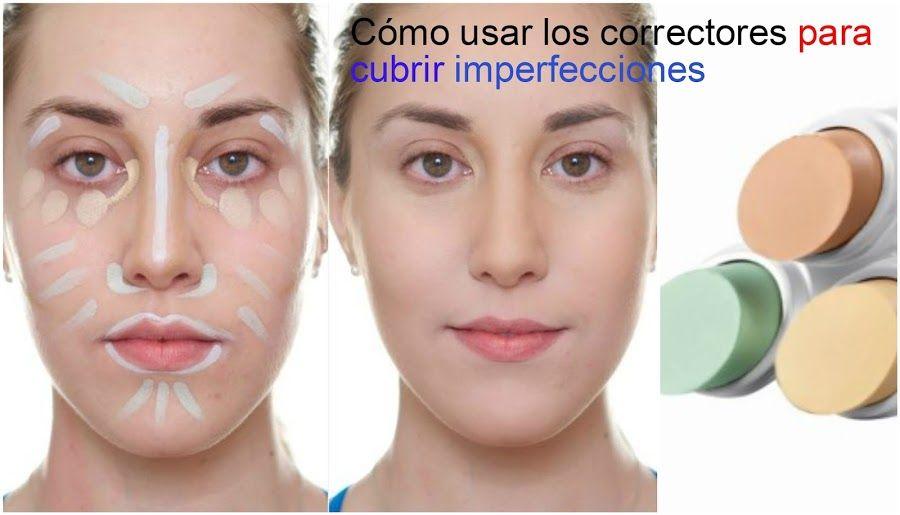 Cómo Usar Correctores Para Conseguir Una Piel Perfecta Apunta Corrector Maquillaje Como Usar El Corrector Maquillaje Paso A Paso