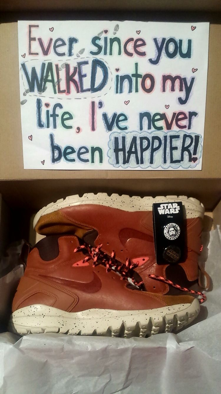 Birthday gift idea for boyfriend running shoes with a clever yet birthday gift idea for boyfriend running shoes with a clever yet punny quote negle Choice Image