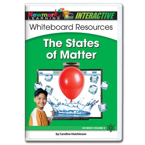 Science Interactive: The States of Matter Interactive Whiteboard CD-ROM