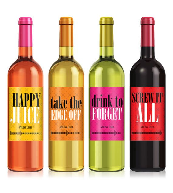 Funny Wine Labels Cheer Up Wine Label Set Coworker Gift Funny Wine Labels Funny Birthday Gift Just Because Gift Funny Wine Labels Wine Bottle Labels Wine Humor