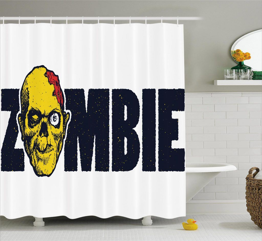 Dead Human Face Shower Curtain With Images Purple Bathroom