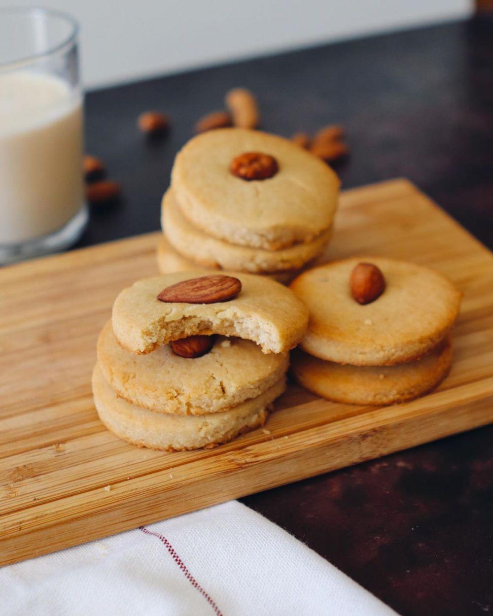 Resep Cookies Almond C 2020 Brilio Net Di 2020 Resep Roti Cemilan Resep