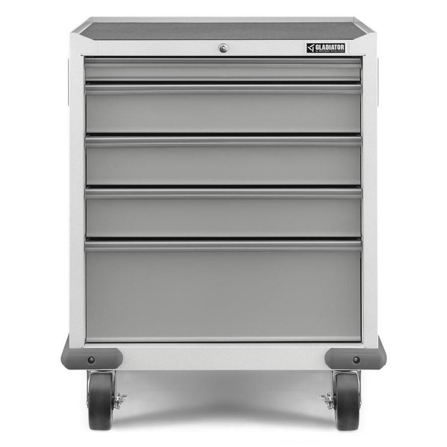 Gladiator Premier Modular Geardrawer 28 In W X 34 5 In H X 25 In D Steel Freestanding Garage Cabinet Gagd275dzw In 2020 Ceiling Storage Modular Gladiator Cabinets