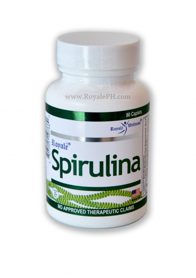 Royale Spirulina Provides Countless Health Benefits Such As