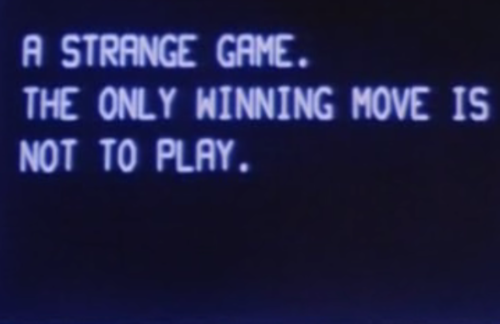 Image result for war games movie quotes