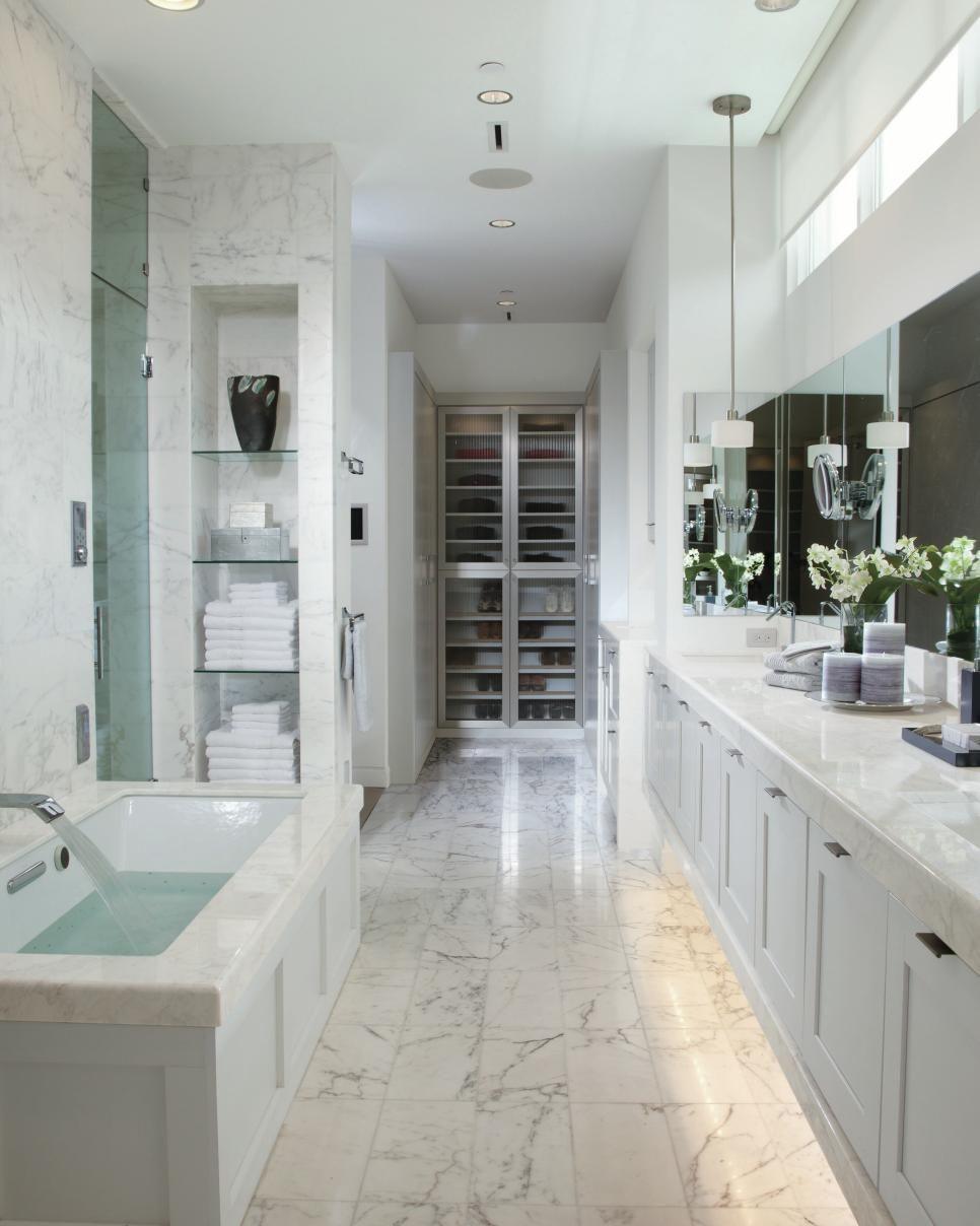 Dream Home 2016: Pool | White marble, Countertops and Marbles
