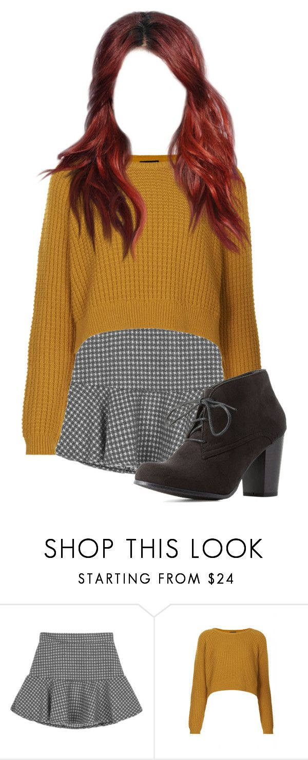 """Untitled #570"" by emiilyt ❤ liked on Polyvore featuring Topshop and Charlotte Russe"
