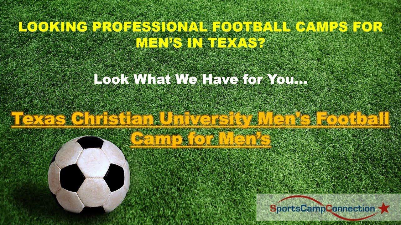 Join Texas Christian University Tcu Men S Football Camp For