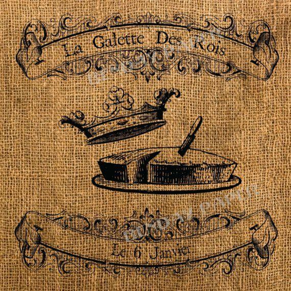 La Galette Des Rois | epiphany | Epiphany, Crown, Noel