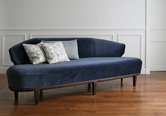 Sofa Elisa Half Moon Shaped Sofa Suitable For A Free Standing