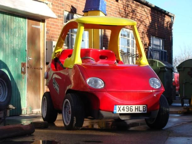 Big Street Legal Little Tikes Car Is Your Childhood On Steroids