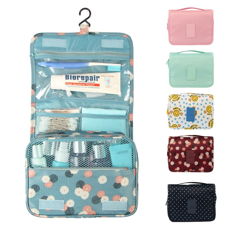 Travel Organizer Pouch Poratable Hanging Toiletry Storage Bag Cosmetic Wash Holder Makeup Containe Toiletry Bag Women Mens Toiletry Bag Makeup Bag Organization