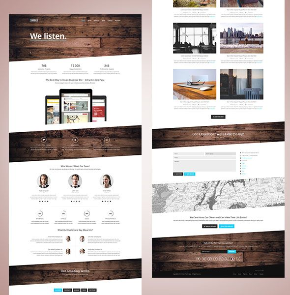 20 Free Responsive HTML5 Templates | Downloads - templates ...