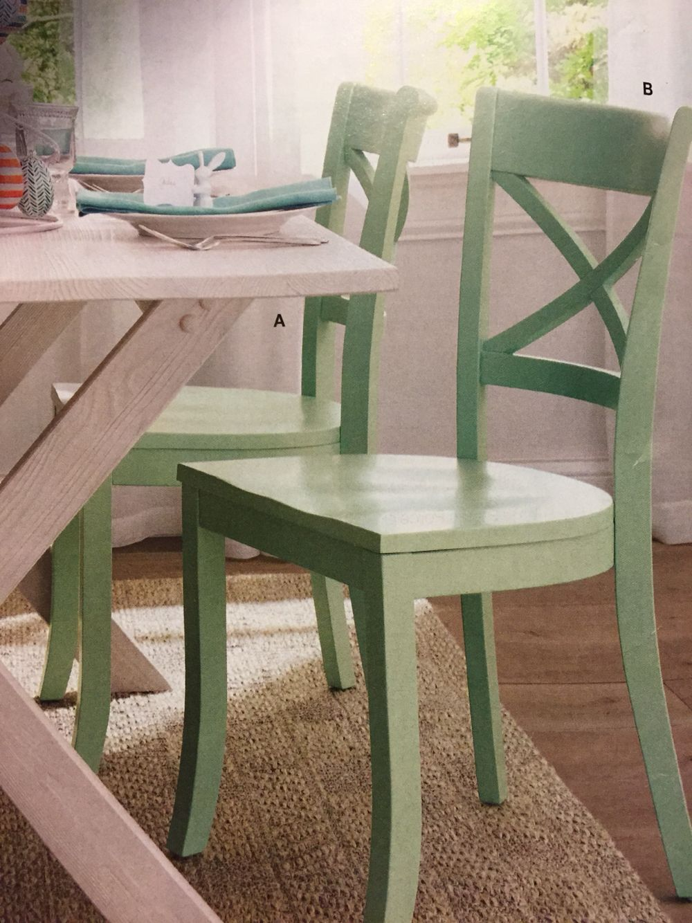 Park Art|My WordPress Blog_Mint Green Chairs For Dining Room