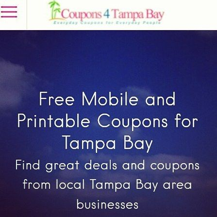 Working on new look of @coupons4tampa checkout new look at coupons4tampabay.com old look at coupons4tampa.com comments please #Tampa #tampabay