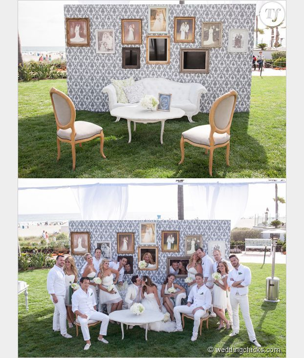 d cor de photobooth de mariage mariage pinterest mariages deco mariage et mariage int rieur. Black Bedroom Furniture Sets. Home Design Ideas