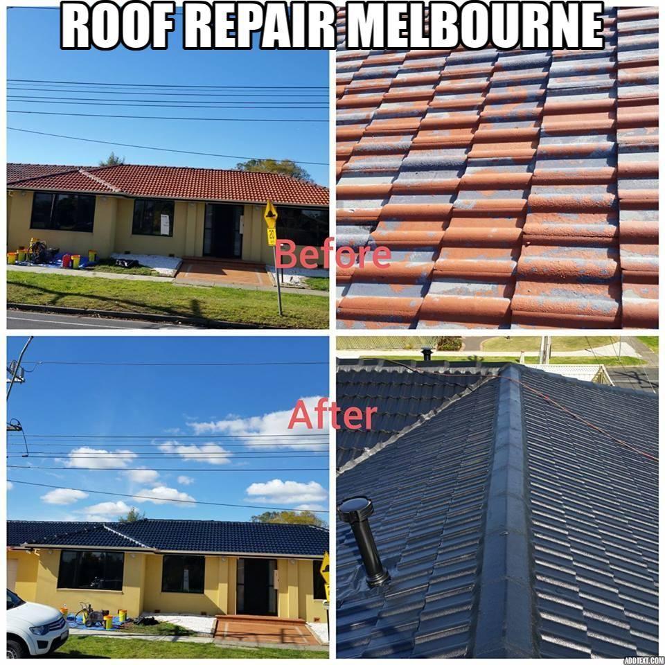 Leaking Roof Repairs Melbourne | Roof repair, Roof paint ...