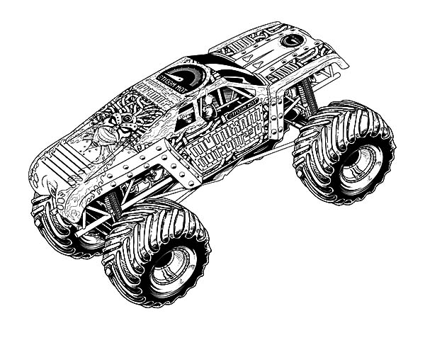 Pin By Ryan Zykan On Cars Coloring Pages In 2020 Monster Truck Coloring Pages Truck Coloring Pages Monster Coloring Pages