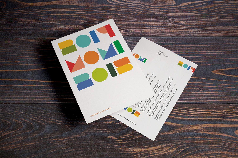Capodanno da Momi, Momi restaurant, flyer — hstudio