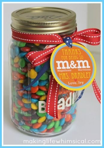 Thirty School Themed Mason Jar Ideas Yesterday On Tuesday Teacher Gifts Teacher Treats Jar Gifts