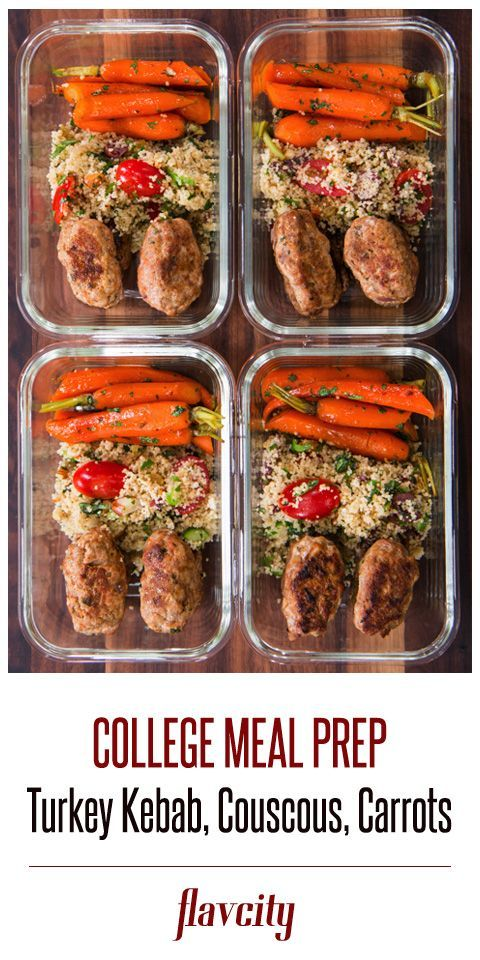 #couscous #flavcity #carrots #turkey #glazed #kebab #salad #withTurkey Kebab (with glazed carrots &...