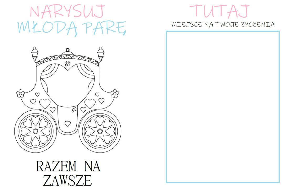 Weselna Ksiazeczka Zabaw Slub Wesele Playing Cards Cards