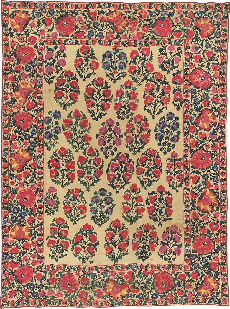 A Guide To Suzani Textiles Prints Textiles Printed