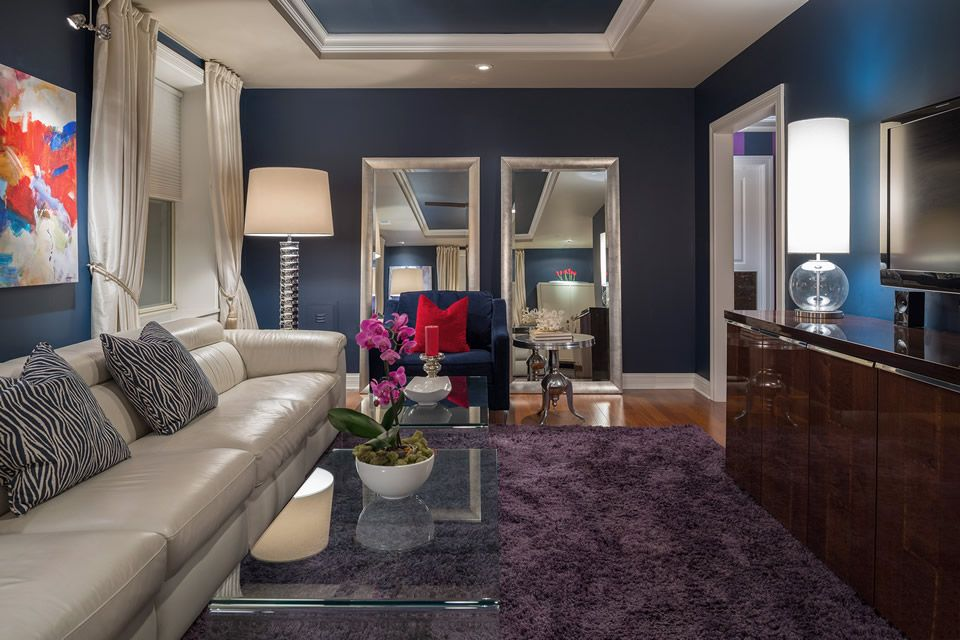 View the modern condo interior design project portfolio by st louis interior designers sk interiors and home staging