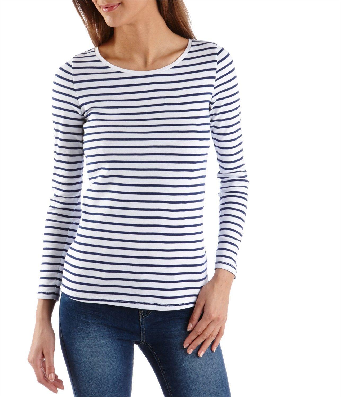 921c6d8d5f1 CAMAIEU – T-shirt femme marinière