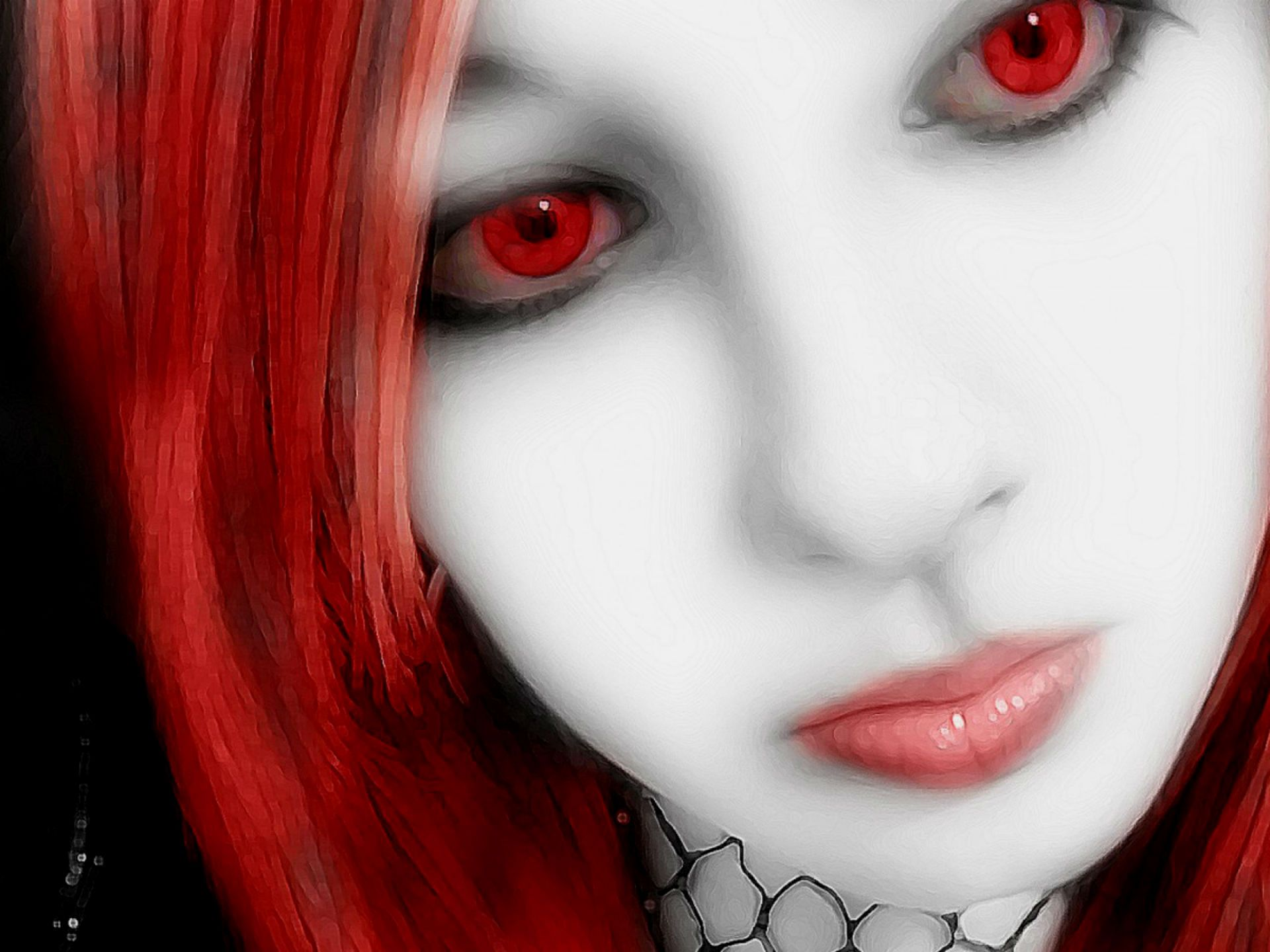 Vampire Wallpaper 1920x1440 45574 Cool Vampire Wallpapers Vampire Halloween Face Makeup