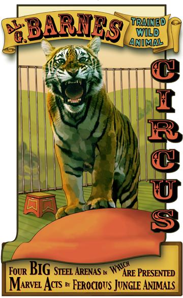 Circus Banner... | Cirque vintage, Affiche de cirque et ...