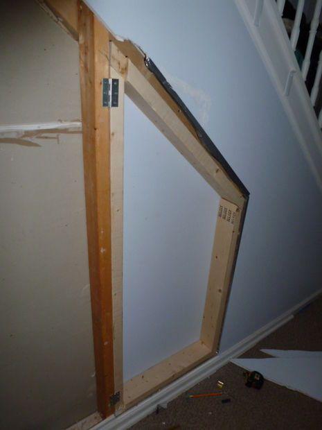 Hidden Room Under The Stairs Hidden Rooms Under Stairs Door Under Stairs