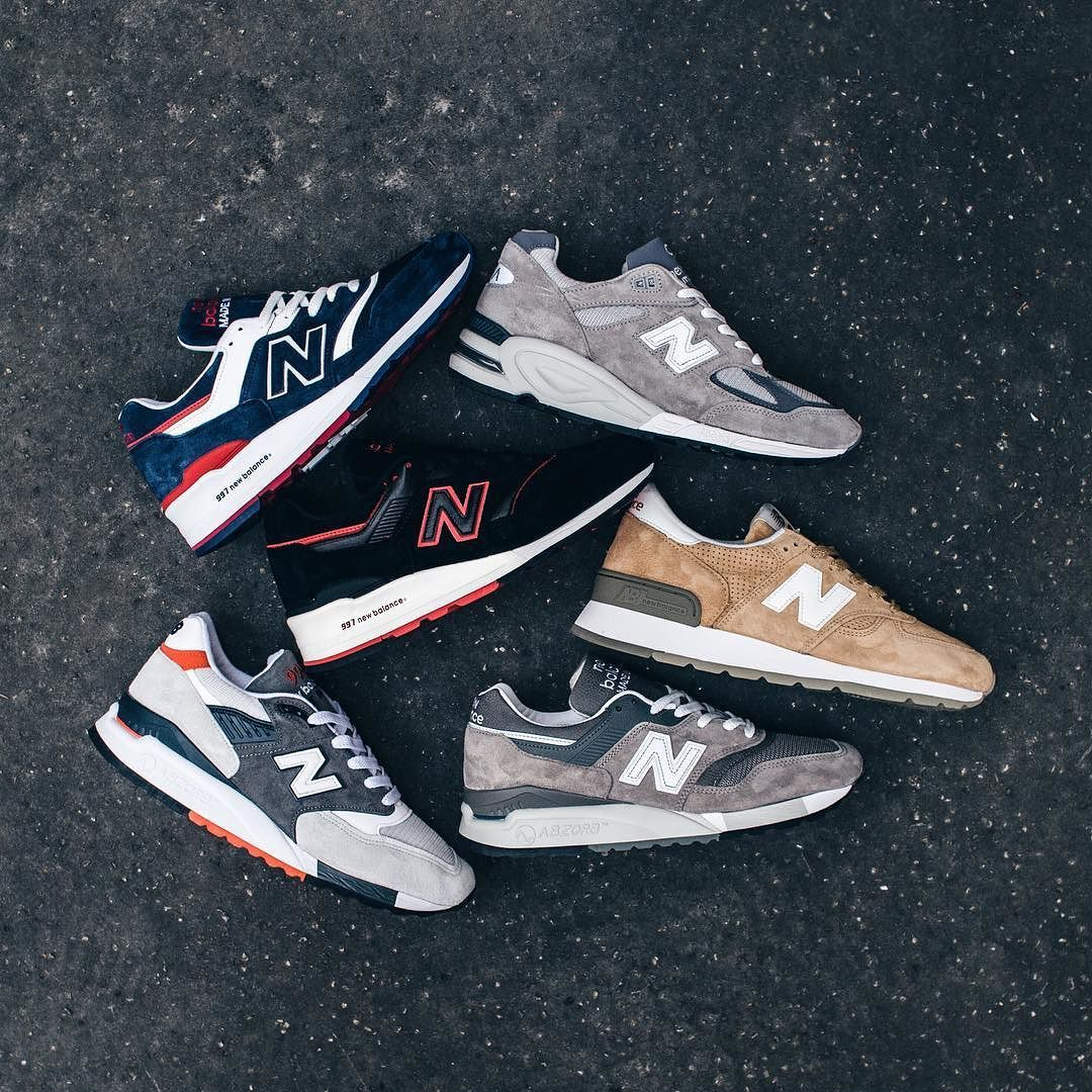 best website 18490 92a0e We ve received a bunch of very nice New Balance all made in USA that will  soon be available online! The pigskin suede on these are buttery as always.