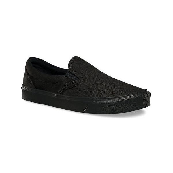 Vans Slip-On Lite ($55) ❤ liked on Polyvore featuring shoes, sneakers