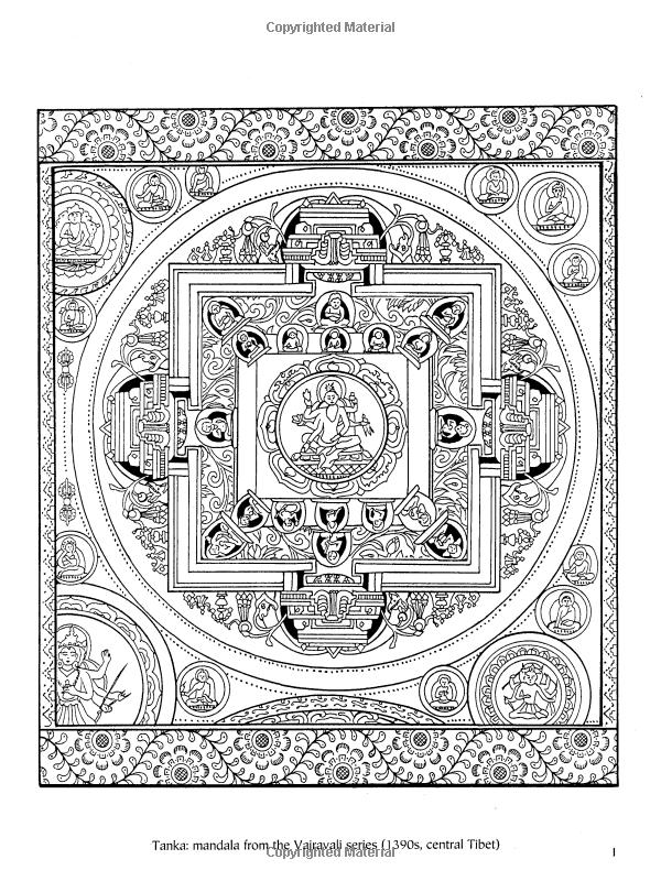 Tibetan Designs (Dover Design Coloring Books): Marty Noble ...