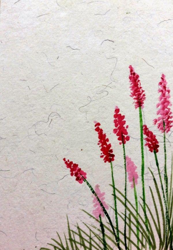 80 simple watercolor painting ideas acrylic flowere pinterest