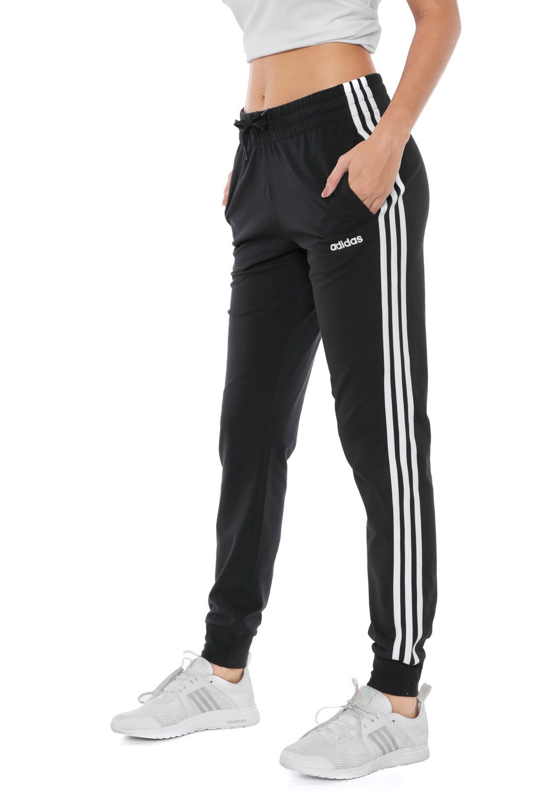 adidas W E 3s Pant Sport Trousers Mujer