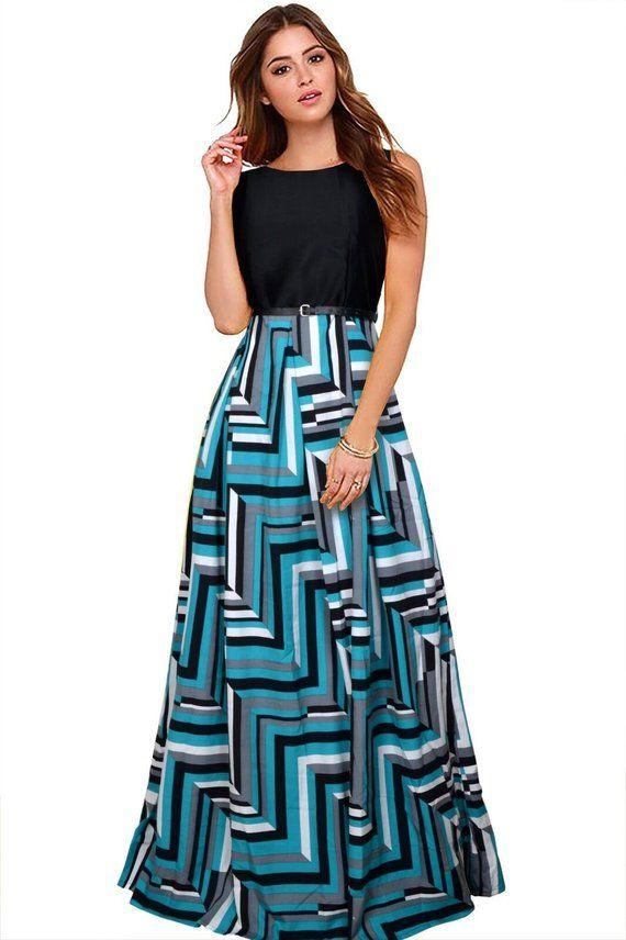 4b7516f9ab Black and Blue dress