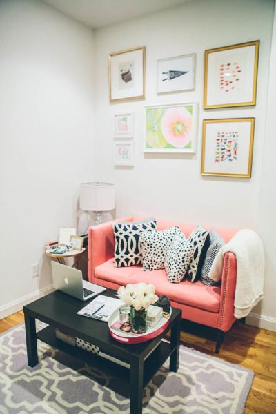 the college prepster home tour | living rooms and room