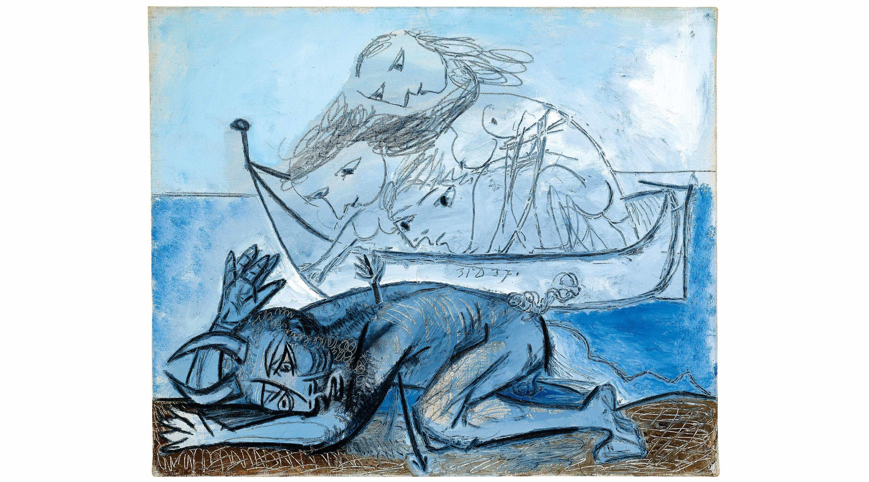 It's hard to come away from a Picasso exhibition without thinking that he was a total bastard: a selfish, arrogant, mercurial, lascivious, lecherous, horn