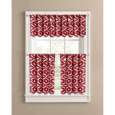 fff8a6c03b21d6d2c1985cd48b1e6edc - Better Homes And Gardens Red Check Swag Valance