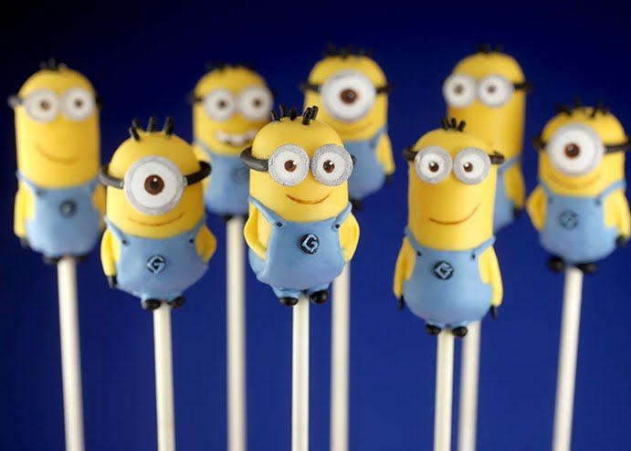 Abby will love these!!! Despicable Me 2 Cake Pops