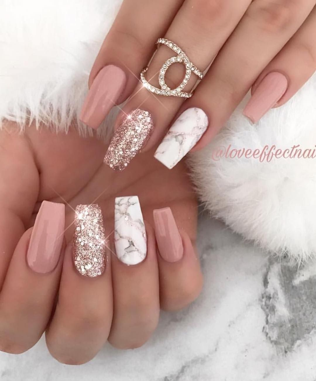 60 + long trendy fall nails style which is popular in ins 2019 - ibaz