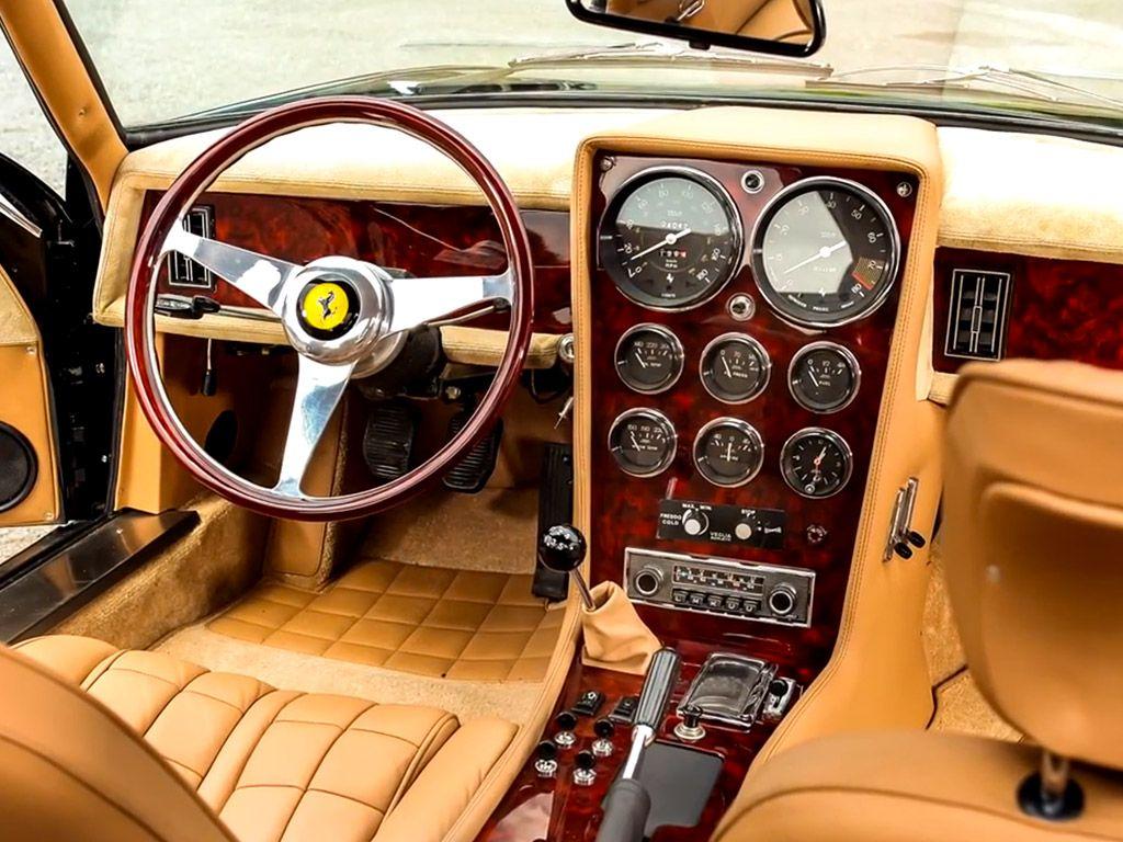 Ferrari 365 daytona shooting break interieur ferrari for Interieur ferrari