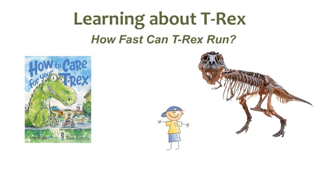 Learn About T Rex How Fast Can T Rex Run Dinosaur Facts Running Rex